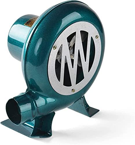 TYSJL Soplador eléctrico de Velocidad de Barbacoa portátil de la Barbacoa, para Barbacoa, Herramienta de cocción del Ventilador de Chimenea, con Cable de alimentación de 220V AC y 12V DC Incluido