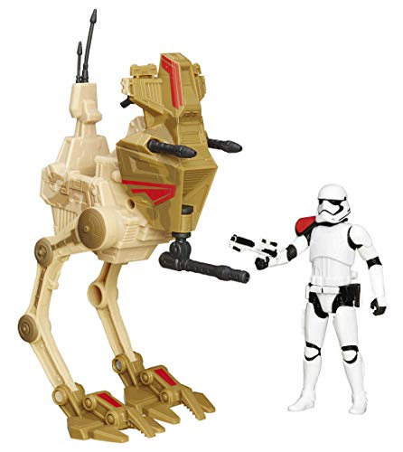 STAR WARS THE FORCE AWAKENS : VÉHICULE AVEC FIGURINE 2015 ASSAULT WALKER EXCLUSIVE