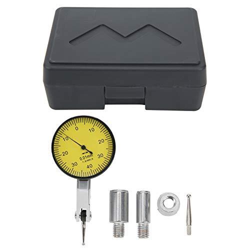 Indicador de prueba de cuadrante de palanca, indicador de cuadrante, alta precisión, resistente al desgaste, alta tenacidad para joyas de medición de piezas de trabajo