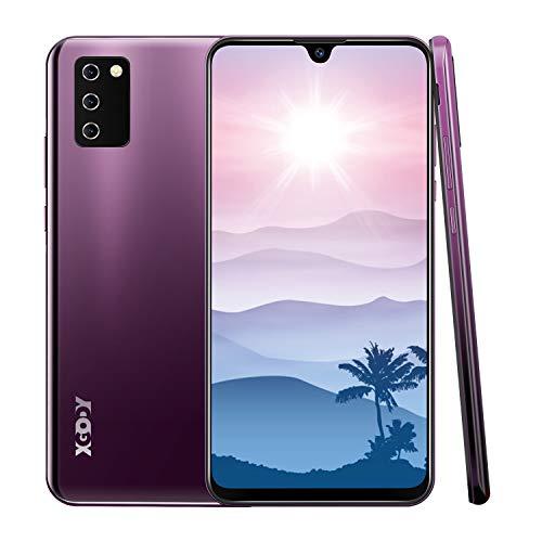 Smartphone 4G senza contratto, XGODY Note10 7.2 pollici HD gocce d'acqua schermo Smartphone Smartphone Android 9.0 Dual SIM Free Cellulare Mobile Phone, sblocco Facial, batteria 3600 mAh