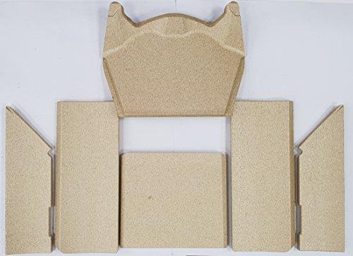 Nibe Contura Skamol-Set zu 510 Style / 520 Style / 590T Style Vermiculite 391514