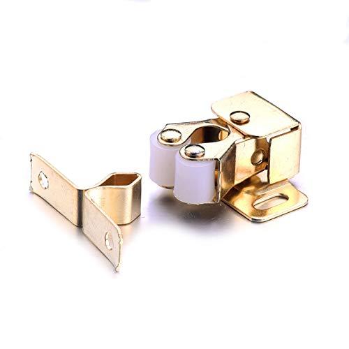 Växla knapp Ny 1/4 / 8st Magnetisk spänne för skåpdörr Lägsta priser Badrum Toalett Små Stor Lås Fångst Lås Gate Lås med skruv hållbar (Size : 1pcs)
