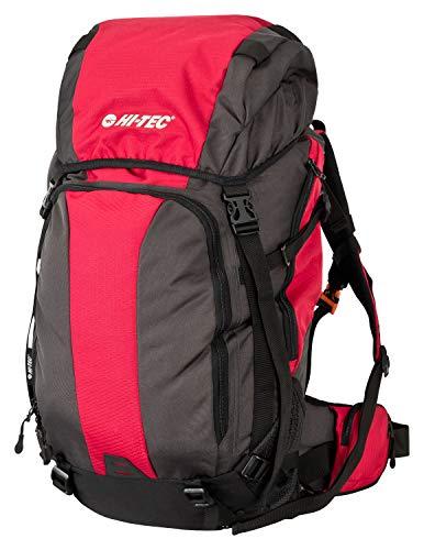 Wanderrucksack Hi-TEC Leichter Trekkingrucksack Damen und Herren, Daypack, Outdoor Rucksack, Fahrradrucksack mit Helm-Lasche aus wasserabweisenden 600D Polyester (35 Liter)