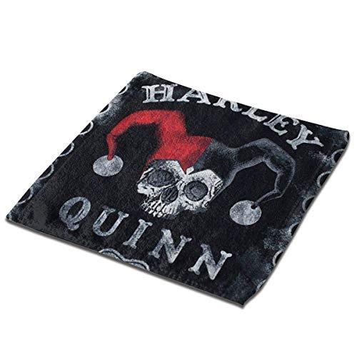 Leo-shop Ha-rley Quinn Ouija Board Handtücher Ultra Soft Absorbent Guest Bad Küchengeschirrtücher Waschlappen