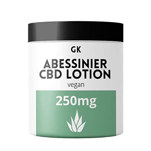 CBD Creme hochdosiert (30ml) mit 250mg CBD auf Aloe Vera Basis 100% vegan - verwendbar als Akne Salbe, Schuppenflechte Salbe oder Salbe gegen Juckreiz & Neurodermitis - CBD Creme Gesicht mit Kokosöl