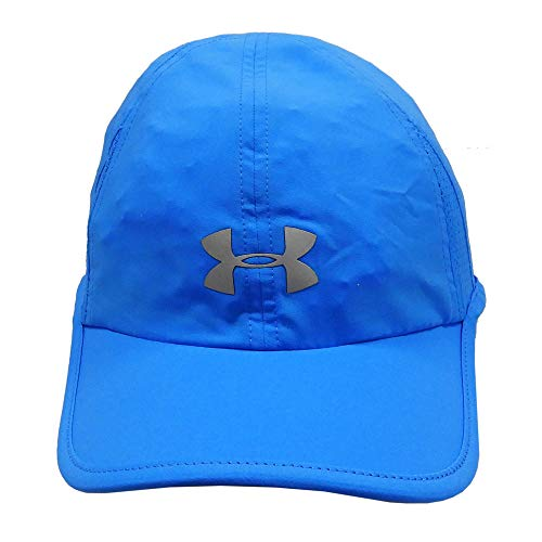 UNDER ARMOUR アンダーアーマー レディース ジュニア 女性用帽子 ランニング キャップ 帽子 55〜58cm - デザインF/ブルー