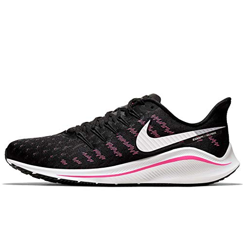 Nike Men's Track & Field Shoes, Multicolour Black Platinum Tint Pink Blast 007, 10.5 UK
