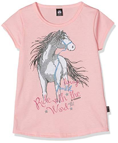 Trigema Mädchen 236248119 T-Shirt, Rosa (Rosé 132), (Herstellergröße: 152)