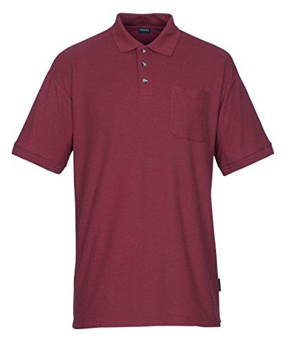 Mascot Borneo Polo Shirt 4XL, rot, 00783-260-02