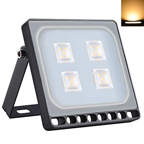 LED Ultradelgadas Lámparas de Inundación de 20W 1600LM 3000K Blancos Cálidos Fríos IP65 Iluminación Exterior Impermeable para Jardín Paisaje Estacionamiento Hotel