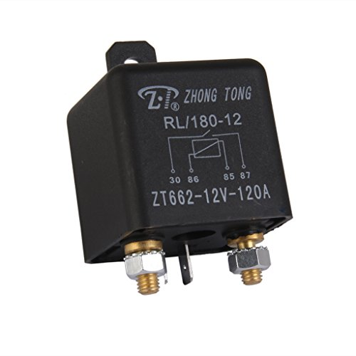 Relais relay module Camion Voiture Automobile 12V 120A 120 Ampères Noir
