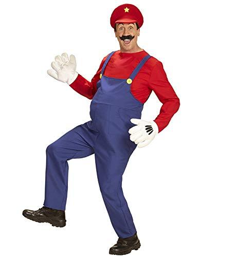 Widmann-WDM08702 kostuum voor volwassenen, voor heren, rood en blauw, WDM08702