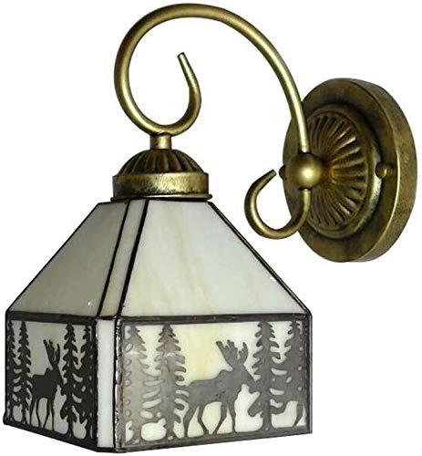 YONGYONGCHONG Iluminación D-Light de Protección Ambiental de la lámpara de Pared Pasillo Pared Cortina de Cristal de la lámpara Suaviza Eleva Belleza Luces del Aplique 25 * 14.5cm Luz del Patio