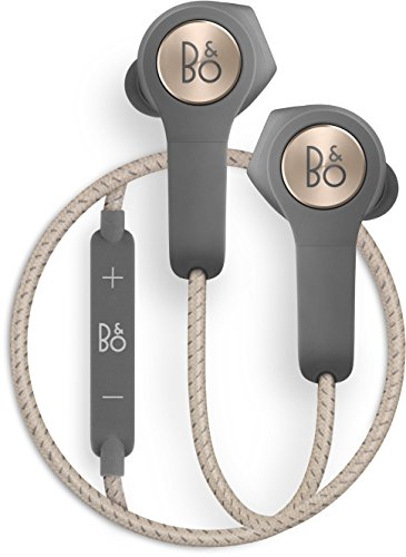 B&O PLAY H5 Wireless in Ear Headphones, Charcoal Sand, One Size