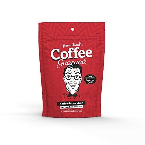 Herr Wach's Coffee Guaraná | Premiumkaffee aus Hamburg | bis zu 8 Stunden wach | besonders mild | 15% Superfoods | Kaffee + Guarana + Moringa + Acai + Lucuma | vegan