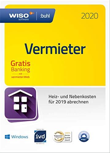 WISO Vermieter: Win 2020 - Mietneben- und Heizkosten korrekt abrechnen (frustfreie Verpackung)|2020|1 Gerät|1 Jahr|PC|Disc|Disc in Frustfreier Verpackung