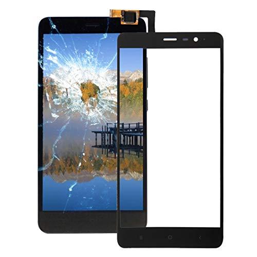 GUPENG Reemplazo de Panel táctil For Xiaomi redmi Nota 3, a estrenar y Calidad del Panel táctil de Alta (Color : Negro)