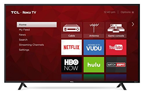 "TCL 55"" Class 4K (2160P) Roku Smart LED TV (55S401)"
