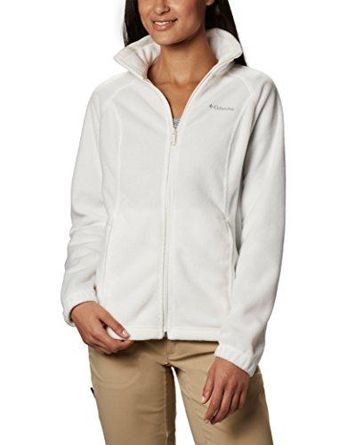 Columbia Women's Benton Springs Classic Fit Full Zip Soft Fleece Jacket, sea salt, L