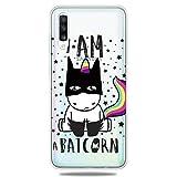 YYhin étui de téléphone pour Coque Samsung Galaxy A50 / SM-A505F TPU Cas, étui Ultra-Fin de...