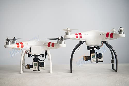 SummitLink Black Tall Extended Landing Gear for DJI Phantom 1 2 Vision Wide and High product image