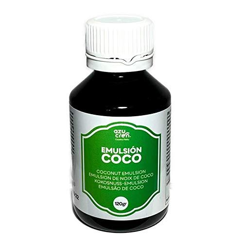 Emulsión para Repostería – Aporta Aroma y Sabor a tus Tartas, Bizcochos y Galletas – 120 Gramos (Coco)