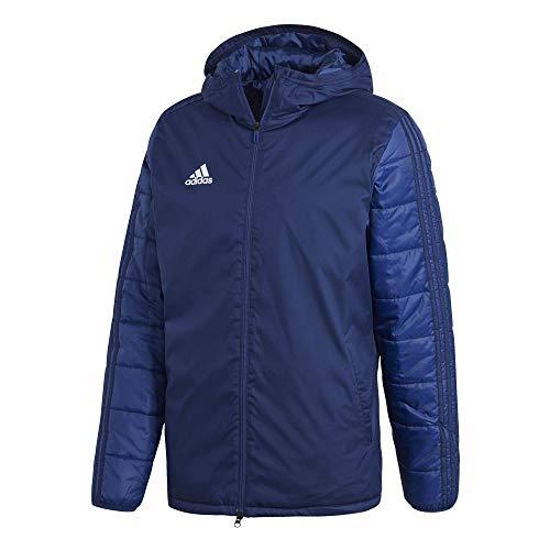 adidas JKT18 WINT JKT Sport jacket, Hombre, Dark Blue/ White, L