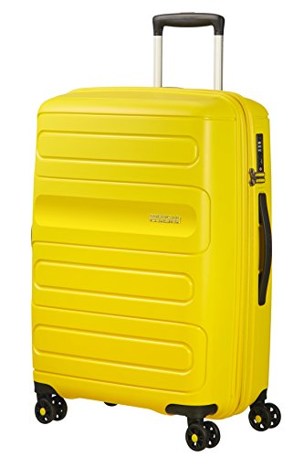 American Tourister Sunside Spinner 68 Expandible, 3.7 kg, 72.5/83.5 l, Sunset Amarillo