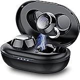 Taopod Auriculares Inalambricos, Auriculares Bluetooth 5.1 In-Ear, 36 Horas de Reprodución con Caja de Carga Portátil, Control Táctil, Estéreo de HiFi, IPX7 Impermeable
