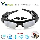 Camera Glasses, Winnes Mini Hidden Camera Wireless Cam Bluetooth Camera Sunglasses Mini DV