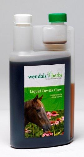 Wendals Herbs Devils Claw Liquid-Supplément/remède nutritionnelle pour cheval