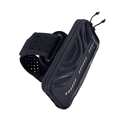 Eono by Amazon - Fascia da braccio sportiva da corsa (nero)