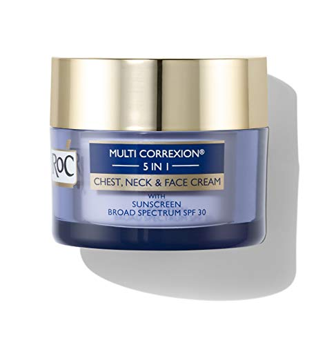 RoC Multi Correxion 5 in 1 Anti-Aging Chest, Neck and Face Cream with SPF 30, Moisturizing...