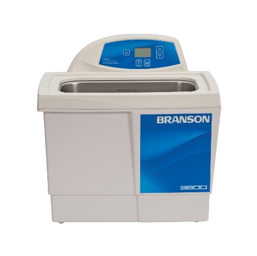Branson CPX-952-318R Series CPXH Digital Cleaning Bath with Digital Timer and Heater, 1.5 Gallons Capacity, 120V