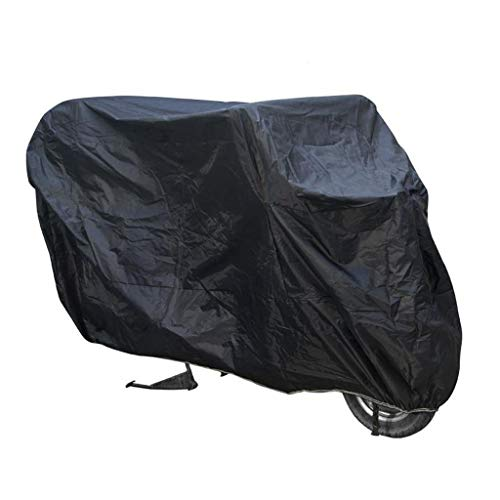 M-YN Couvre vélo en Nylon 190T Portable étanche for l'extérieur de Stockage Robuste Anti-poussière Protection Contre la Pluie de Neige Vent UV for Mountain Route (Color : Black)