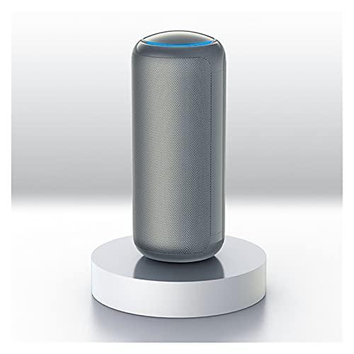 LYB Purificatore d'Aria Smoke PM2.5 Deodorante Accessori Interni Pulito Home Ozono Coche (Color : Silver)