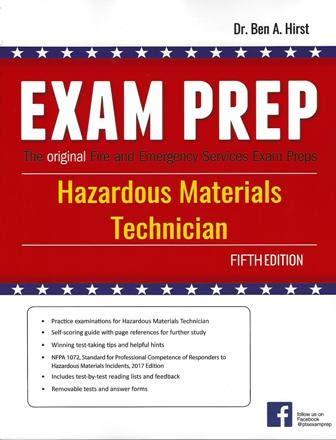Hazardous Materials Technician Exam Prep, 5th edition
