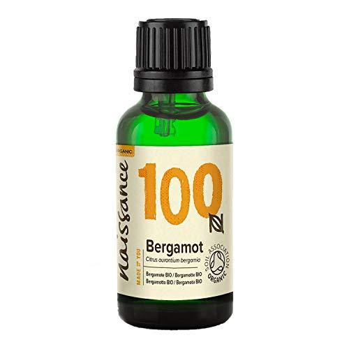 Naissance Olio di Bergamotto Biologico - Olio Essenziale Puro al 100% - Certificato Biologico - 30ml