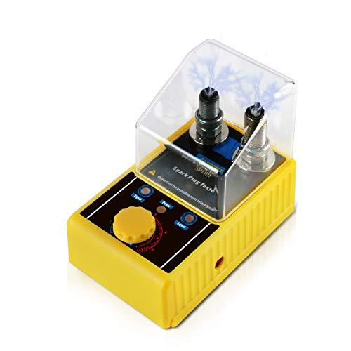 AUTOOL SPT101 Auto-Zündkerzen- und Zündwerkzeuge Kfz-Diagnosescanner Fahrzeugdetektor Zündzündkerzenprüfgerät 220V für 12V-Fahrzeuge