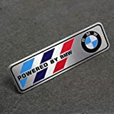 Motorsport Aluminum Body Side Emblem Sticker Decal Badge for BMW