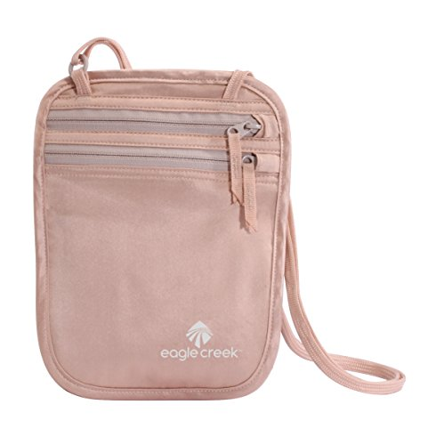 Eagle Creek Silk Undercover Neck Wallet, Rose Pochette Tour de Cou, 19 cm, 0.1 liters
