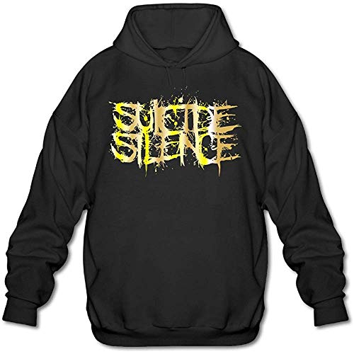 Ulysses Men's Suicide Silence Logo Gold Style Logo Hoodie-3XL