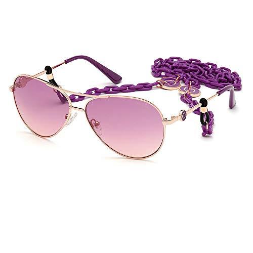 Guess GU7641-28H-64 - mujer Gafas de sol - Shiny Rose Gold