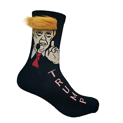 RBXX Socks With Faces On Them Trump Socks with Hair and Comb Gift...