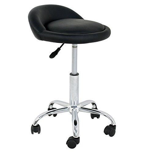 Adjustable Hydraulic Rolling Swivel Stool Chair Salon Tattoo Office Massage Medical Facial Spa Stool Chair