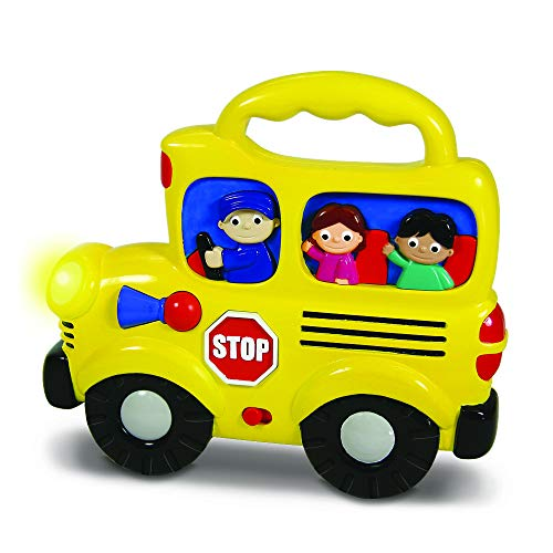 The Learning Journey Early Learning - Wheels On the Bus - Baby & Toddler Toys & Gifts for Boys & Girls Ages 12 months and Up - Award Winning Toy