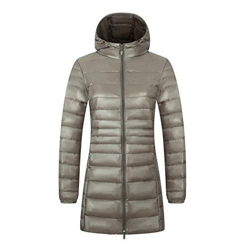 Mid-length Hooded Down Jacket Parker Vrouwen Ontwerper Gewatteerde jas Zip Zakken Meisje Winter Mode Waterdicht Warm Donker S-4XLVery Mooi Gift