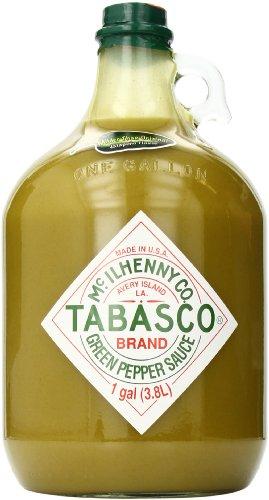 Tabasco Green Pepper Sauce, 128 Ounce