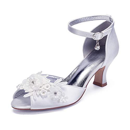 Zapatos De Boda De Novia, De Tacón alto, Tacón alto Sole Con...