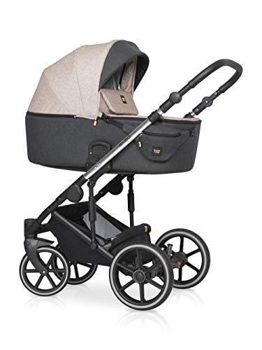 Kinderwagen für Babys, 3-teilig, Modell EXEO von Expander Farbe Mocca